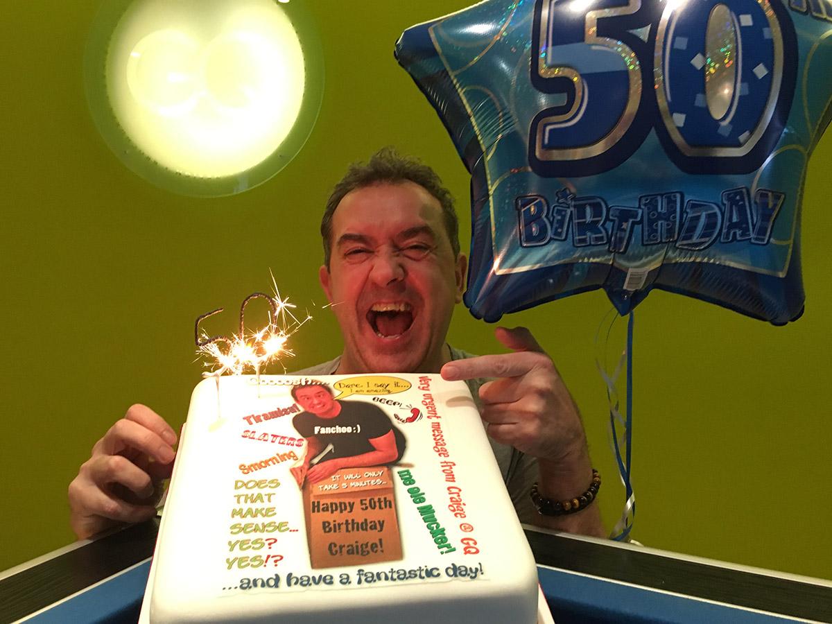 Craige Quainton 50th