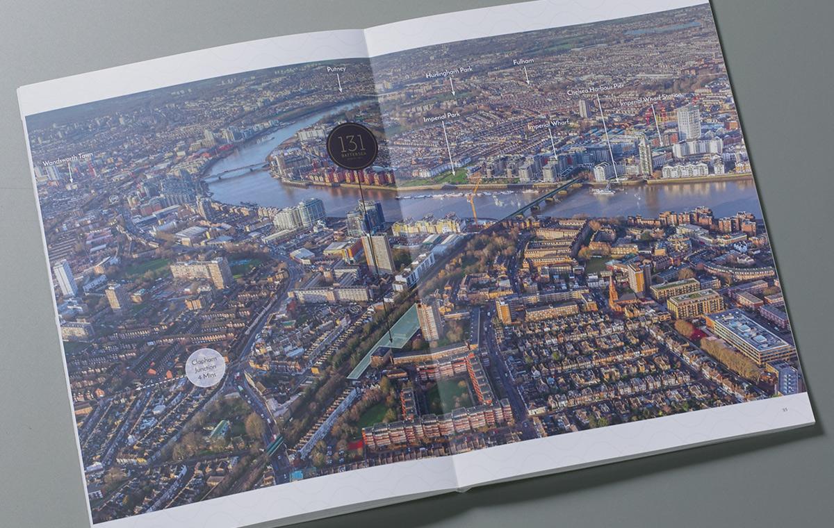 131 Battersea High Street brochure spread