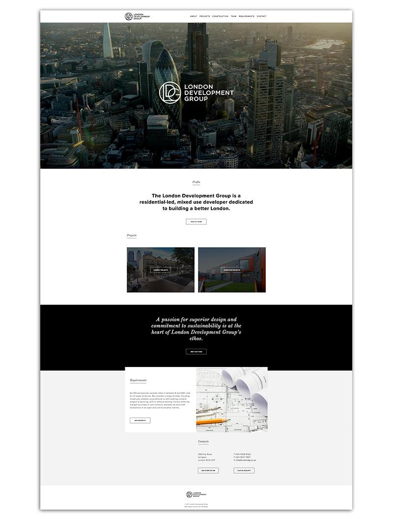 LDG homepage