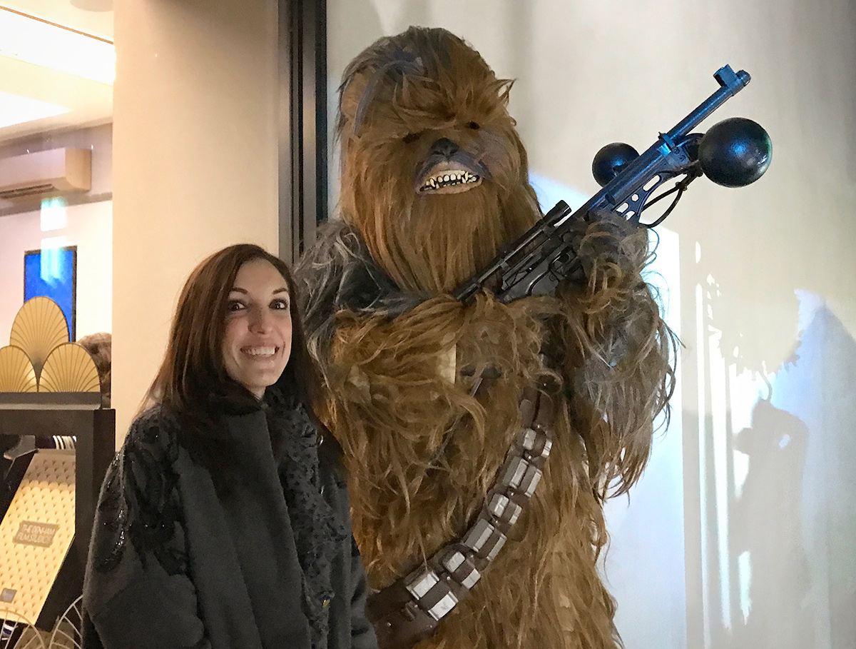 Amy at Denham Star Wars event