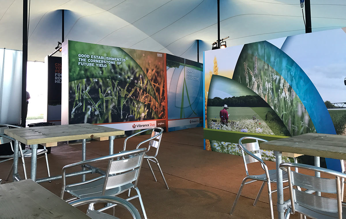 Cereals 2017 in marquee